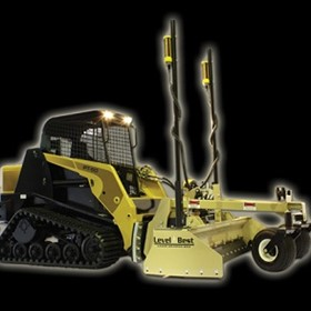 Automatic Laser Grading  | Level-Best Dual Axis System