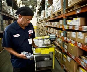Bally Technologies has improved its inventory accuracy and reduced its warehouse headcount.
