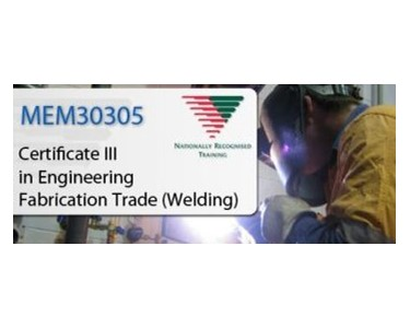 Welding | Certificate III in Engineering – Fabrication Trade (Welding)