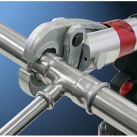 Stainless Steel Pipework Pressfit System | Europress