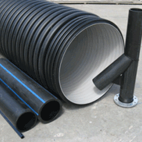 PE, Polyethylene, Black Poly or Blue stripe Pipe