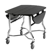 Service Trolley | Freefold Option - Oval