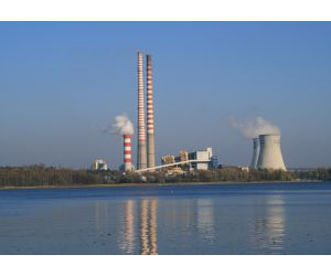 A new material being developed by scientists, NOTT-300, may help reduce emissions from coal-fired power plants.