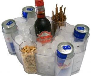 Energy drinks and alcohol is a popular if risky combination.