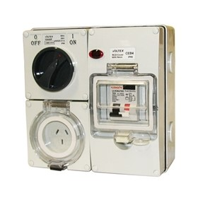 RCD Protected | IP66 Combination