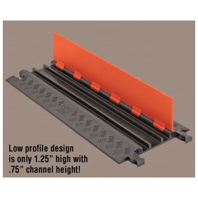 Low Profile Cable Protectors | Guard Dog 5 Channel - Standard Ramps
