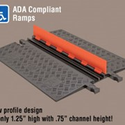 Low Profile Cable Protector | Guard Dog® 2 Channel - ADA Compliant
