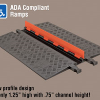Low Profile Cable Protectors | Guard Dog® 1 Channel - ADA Compliant