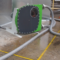 Lime slurry successfully transferred using peristaltic hose pump