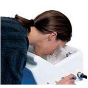 Emergency Eyewash with Integral Lid | H-STD45G
