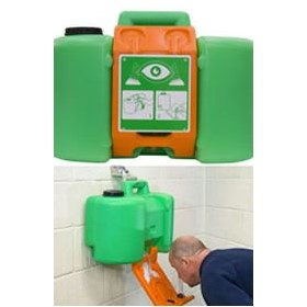 Self Contained Portable Emergency Eyewash Station | H-P400