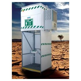 1200L Emergency Tank Shower with Chiller | H-EXPJ14K1200CHIL