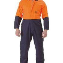 Safety Wear 2 Tone Hi Vis Coverall | Bisley Workwear