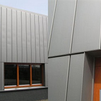 Metal Cladding | NedZink® Nova Structure | Flat Sheet