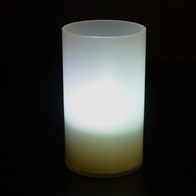 Candle Lamp | Robust Acrylic | Opaque Mini 10cm