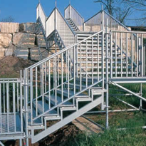 Stairs & Temporary Access | Public Access Stairs