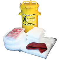 Spill Kit - Oil and Fuel Wall-Mounted 75L Absorbent Capacity (SKH80)