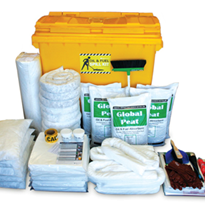 Spill Kit - Oil and Fuel Large Mobile Bin 770L (SKH660)