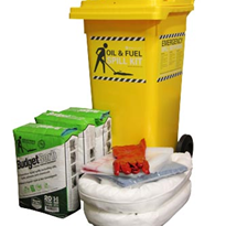Spill kit - Oil and Fuel Budget 55L Absorbent Capacity (SKHBR120)
