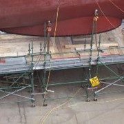 Aluminium Pole Ladders | Turbo Scaffolding