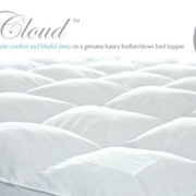 "Bed Topper | Feather / Down | ""The Cloud"""