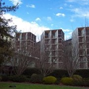 Precast concrete accommodation at University of Canterbury