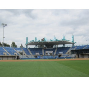 2012/13 ABL Sydney Blue Sox Baseball stadium seating