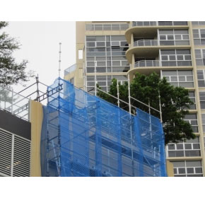 Tiffany Towers, Bondi Junction – cantilever hung scaffolding