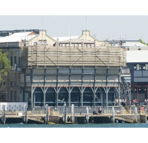 """Pier One"" Hickson Road Project – cantilever scaffolding"