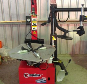 Tyre Changer with Assist Arm | BRIGHT 885