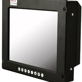 "Rugged Computer Displays | CT2010- 10.4"" HMI Flat Panel Display"