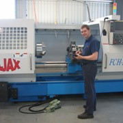 CNC Lathe Kinwa 660mm x 2000mm with 186mm Spindle Bore