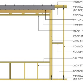 Timber Wall Frames | Prefabricated