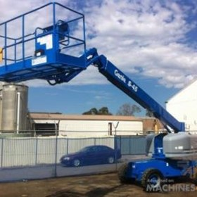 Telescopic Boom Lifts | Genie S45 4wd Diesel