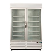 Medical Freezer | NLDF Display 930 litres | Glass Door - Colorbond
