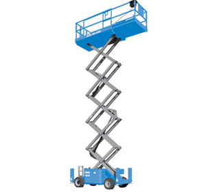 Self Propelled Scissor Lifts | GS-2669 RT, GS-3369 RT, GS-4069 RT