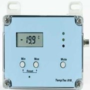 Data Logger | TempTec 816 | Temperature Data - Min/Max LCD