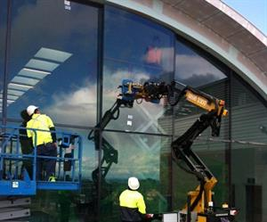 The Commercial Windows team at work in Katoomba.