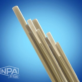 NPA Nylon Threaded Rod