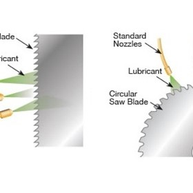 Metal Cutting Technology | Saw Blade Lube System