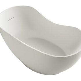 Baths, Spas & Showers | Kohler Abrazo Freestanding Lithocast Bath