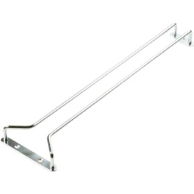 250mm Chrome Plated Glass Hanger | Tomkin