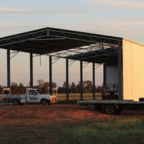 Steel Fabrication | Commercial & Industrial Sheds