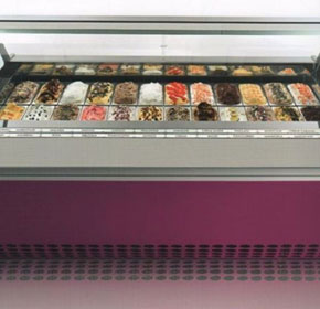 Ice Cream Display Cabinet | Zip