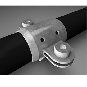 Handrail Fittings | 2 Way Ring