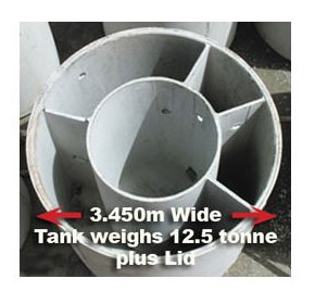 Grease Trap | 8100 Litre Tank