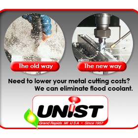 Industrial Coolant | MQL Coolube® Vs Coolant | Unist