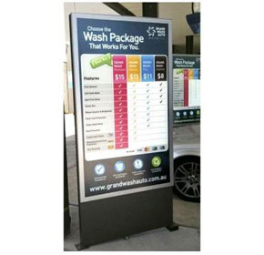 Outdoor Signage | Weather Sealed Units