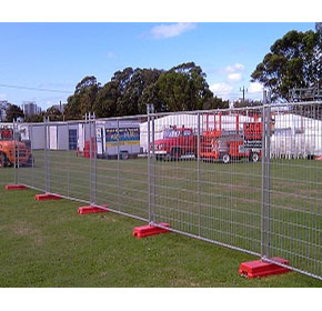 Temporary Fencing | Mesh Panel