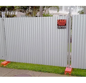 Temporary Fencing | Solid Hoarding Panel